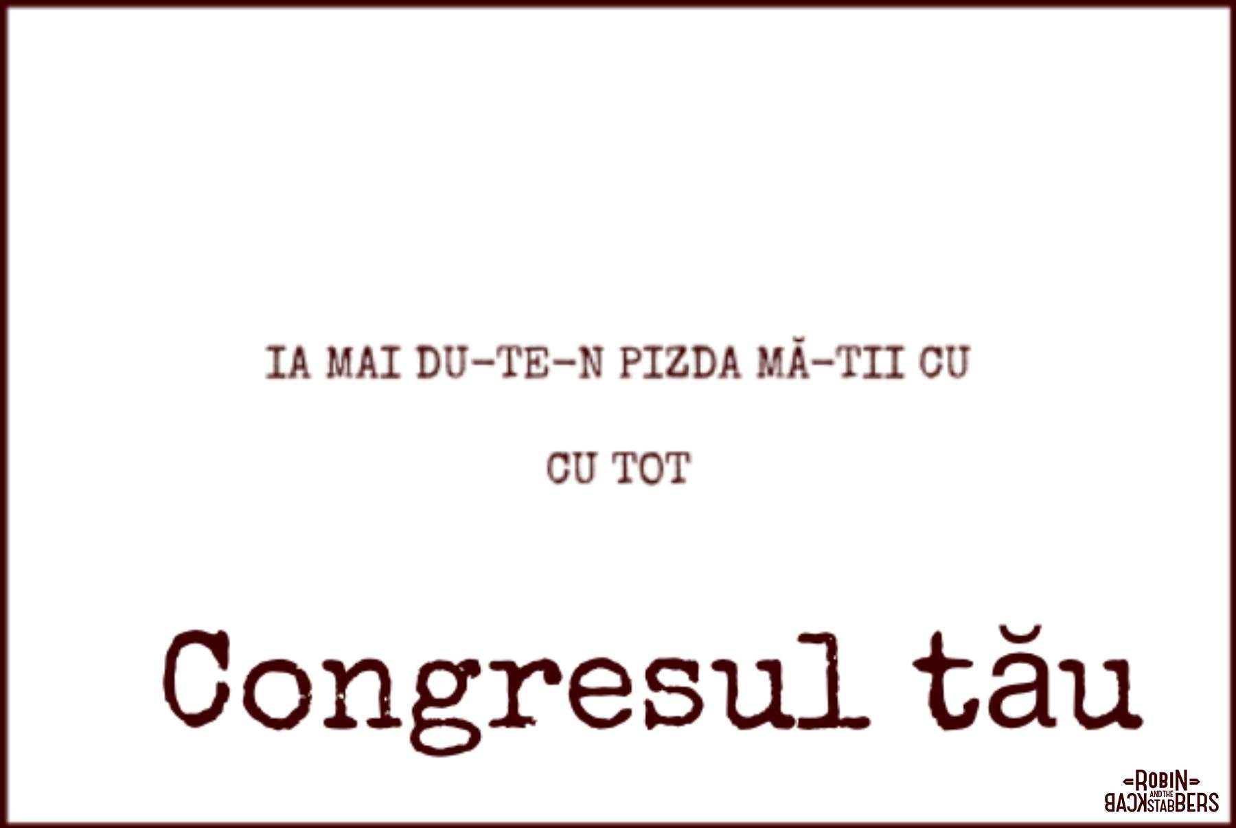 Congresul tău